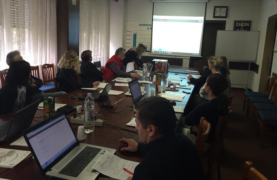 Trening za korištenje i ažuriranje baze kolektivnih ugovora
